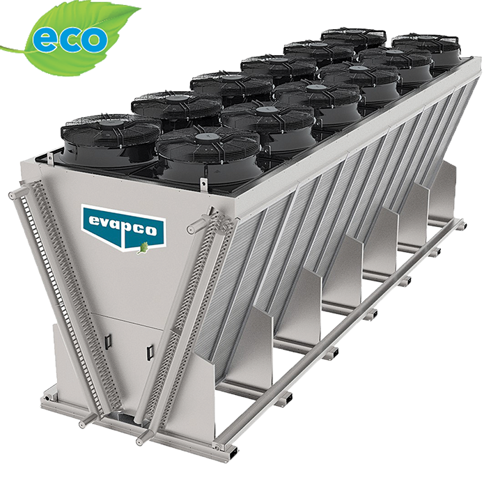 eco-Air Series V-configuration Industrial Dry Cooler
